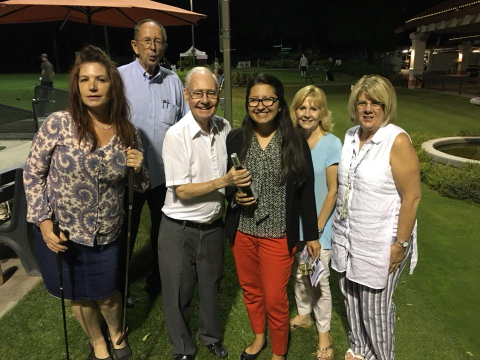Arianna Fajardo Wins Chino Rotary Club Putting Contest